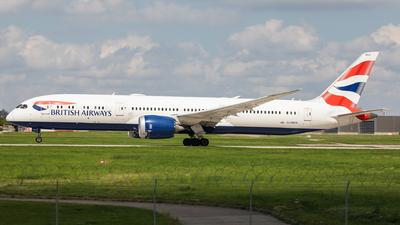 A picture of GZBKH - Boeing 7879 Dreamliner - British Airways - © Oliver Sänger