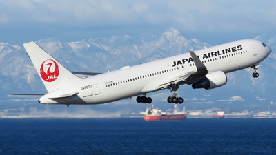 JA607J - Boeing 767-346(ER) - Japan Airlines (JAL)