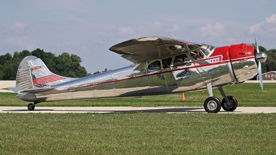 N9857A - Cessna 195A - Private