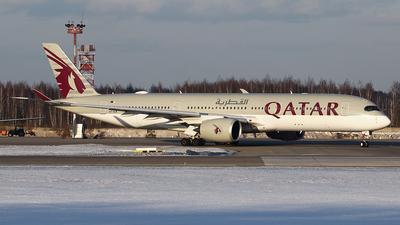 A picture of A7ALM - Airbus A350941 - Qatar Airways - © Airyura