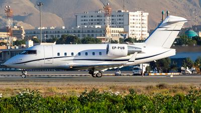 EP-PUB - Bombardier CL-600-2B16 Challenger 604 - Pouya Air