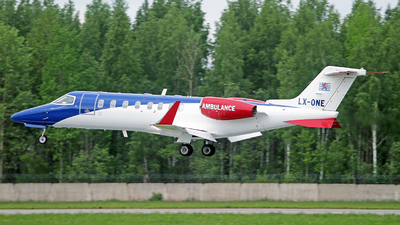 LX-ONE - Bombardier Learjet 45 - Luxembourg Air Rescue (LAR)