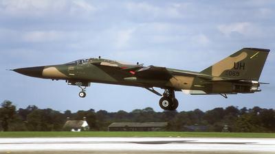 68-0069 - General Dynamics F-111E Aardvark - United States - US Air Force (USAF)
