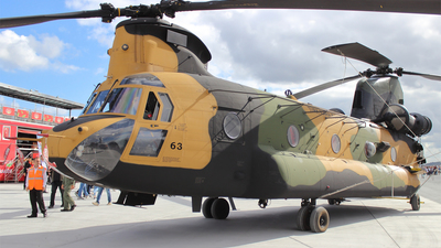 16-7463 - Boeing CH-47F Chinook - Turkey - Army
