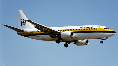G-MONV - Boeing 737-33A - Monarch Airlines