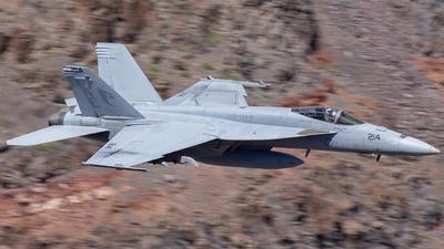 166643 - Boeing F/A-18E Super Hornet - United States - US Navy (USN)