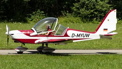 D-MYUW - Evektor EV-97 Eurostar - Deutsche Alpensegelflugschule Unterwössen