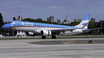 A picture of LVCIH - Embraer E190AR - Aerolineas Argentinas - © Agustin LV-ASP