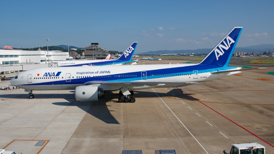 A picture of JA742A - Boeing 777281(ER) - All Nippon Airways - © Kisaragi