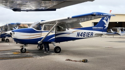 N461ER - Cessna 172S Skyhawk SP - Embry-Riddle Aeronautical University (ERAU)