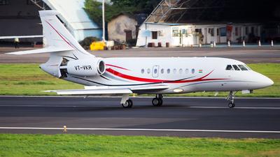 VT-VKR - Dassault Falcon 2000DX - Private