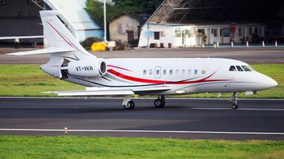 A picture of VTVKR - Dassault Falcon 2000DX - [604] - © Janam Parikh