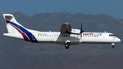 EC-IYH - ATR 72-202 - Swiftair