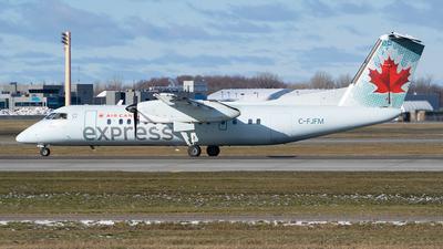 A picture of CFJFM - De Havilland Canada Dash 8300 - Air Canada - © RZ