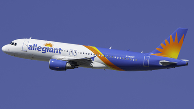 N240NV - Airbus A320-214 - Allegiant Air