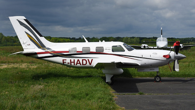 A picture of FHADV - Piper PA46500TP - [4697305] - © bruno muthelet