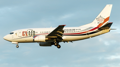 9H-YES - Boeing 737-5Q8 - Air X Charter
