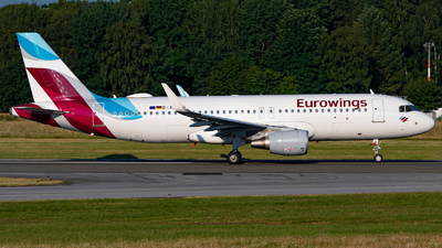 A picture of DAEWL - Airbus A320214 - Eurowings - © Niclas Rebbelmund