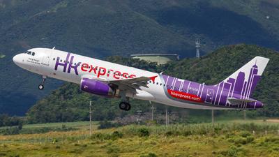 B-LCA - Airbus A320-232 - Hong Kong Express