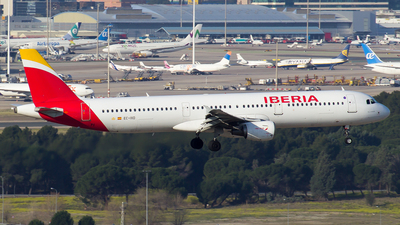 EC-IXD - Airbus A321-211 - Iberia