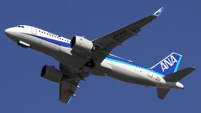 A picture of FWWBO - Airbus A320 - Airbus - © Alberto Cucini