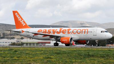 G-EZUJ - Airbus A320-214 - easyJet