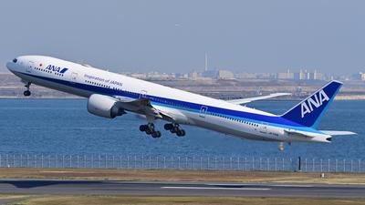 A picture of JA733A - Boeing 777381(ER) - [32648] - © hoyohoyopapa