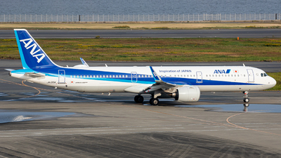 A picture of JA135A - Airbus A321272N - All Nippon Airways - © taiseikondo