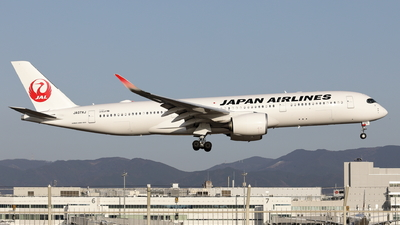 JA07XJ - Airbus A350-941 - Japan Airlines (JAL)