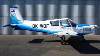 OK-WOF - Zlin 43 - Aero Club - Czech Republic