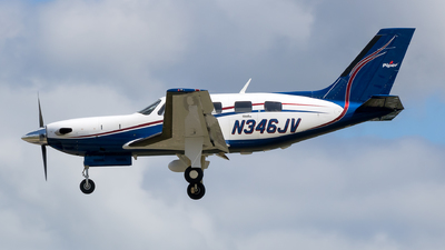 N346JV - Piper PA-46-500TP Malibu Meridian - Private