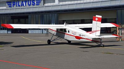 A picture of HBFDU - Pilatus PC6/B2H2 Turbo Porter -  - © Mirko Bleuer