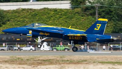 163429 - McDonnell Douglas F/A-18C Hornet - United States - US Navy (USN)