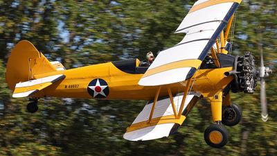 A picture of N49602 - BoeingStearman Model 75 - [752966] - © Joe Osciak