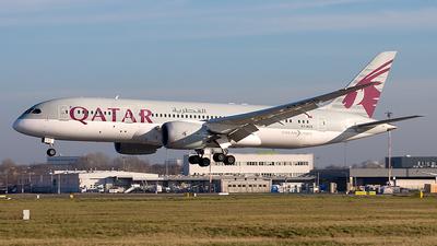 A picture of A7BCS - Boeing 7878 Dreamliner - Qatar Airways - © Tomasz Zylowski