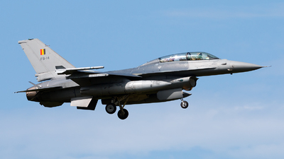 FB-14 - General Dynamics F-16BM Fighting Falcon - Belgium - Air Force