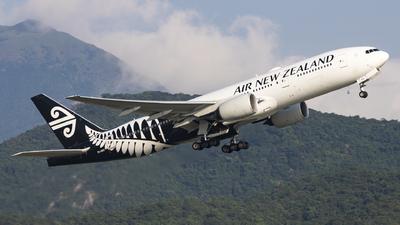ZK-OKE - Boeing 777-219(ER) - Air New Zealand