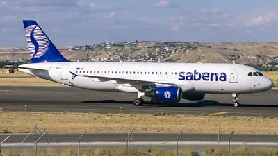 OO-SNF - Airbus A320-214 - Sabena