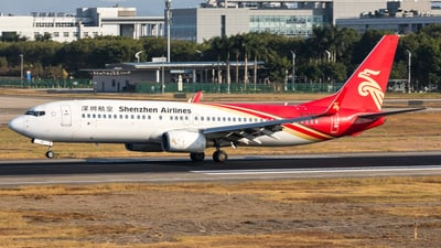 A picture of B5441 - Boeing 73787L - Shenzhen Airlines - © UNNAMED
