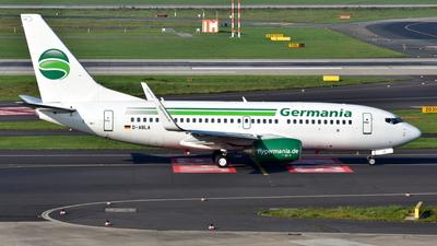D-ABLA - Boeing 737-76J - Germania