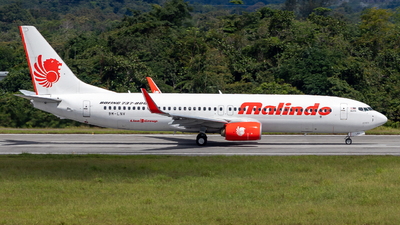 9M-LNV - Boeing 737-8GP - Malindo Air