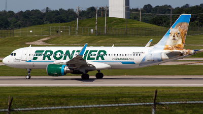 N232FR - Airbus A320-214 - Frontier Airlines