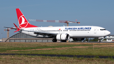 A picture of TCLCK - Boeing 737 MAX 8 - Turkish Airlines - © PAUL LINK