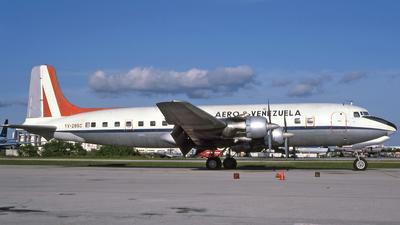 YV-295C - Douglas DC-6B - Aero B Venezuela