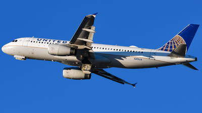 N411UA - Airbus A320-232 - United Airlines