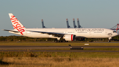 A picture of VHVPH - Boeing 7773ZG(ER) - Virgin Australia - © James Saunders