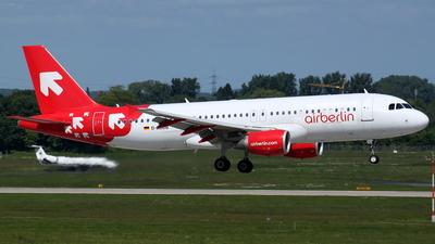 D-ABDB - Airbus A320-214 - Air Berlin