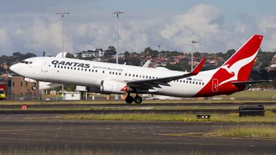 A picture of VHXZO - Boeing 737838 - Qantas - © MQ1131