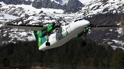 LN-FVB - Bombardier Dash 8-103 - Widerøe