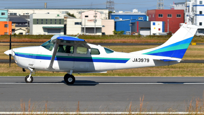 JA3979 - Cessna TU206G Turbo Stationair - First Flying (FFC)
